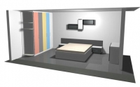 проект на спалня 1