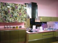 Проект на кухня МДФ с принт стъкло