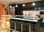 Кухня в черно МДФ мат