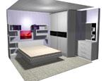 Спален комплект в бяло