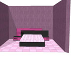 Легло в черно и виолетово