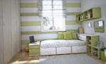 Детаскя стая в зелено и бяло
