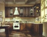 Кухня с врати масив череша