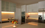 Кухня от МДФ осветление