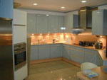 Кухня с осветление