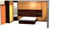 Спален комплект с гардероби