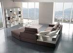 дизайнерска ъглова мека мебел уникална