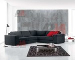 надеждна   ъглова мека мебел с ракла