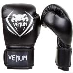 Боксови Ръкавици - VЕNUM CONTENDER BOXING GLOVES - BLACK