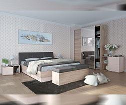 Модулни мебели за спалня Фаворит