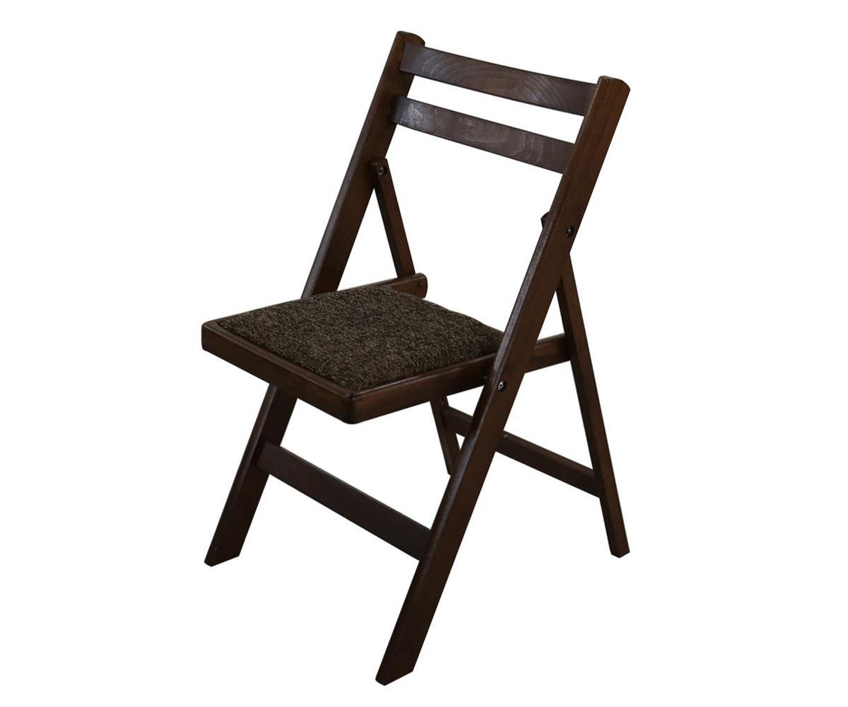 Трапезен тапициран сгъваем стол