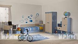 Комплект мебели за детска стая Мани ВРЕМЕННО СПРЯН ПРОДУКТ