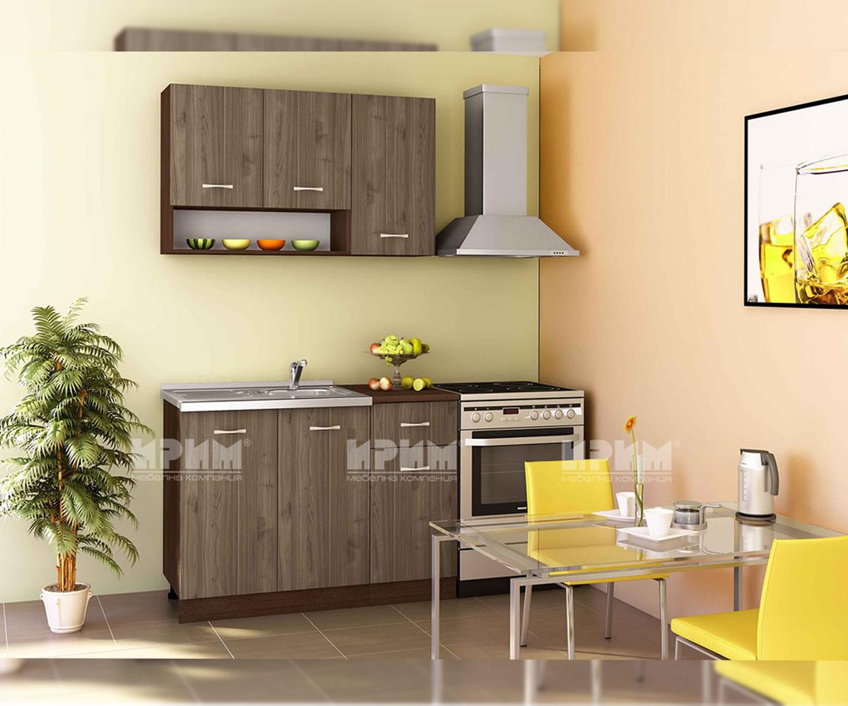 Модулна кухня с термоплот Сити 824