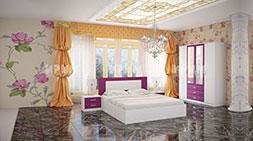 Спален комплект мебели Сити 7017