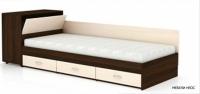 Легло Приста с чекмеджета и ракла №606