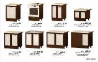 Модулна кухня СИТИ долни шкафове