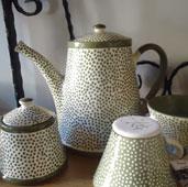 Чайник керамика авторска