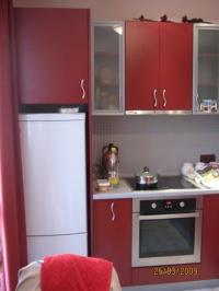 Кухня в бордо