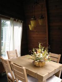 Трапезна маса с 6 стола от масив