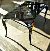Дизайнерска маса на Паоло Верниер