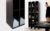 Дизайнерски шкаф за книги