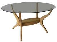 Трапезна маса със стъкло