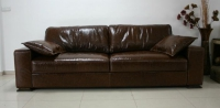 Кожен луксозен диван