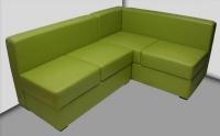 Зелен диван за заведения