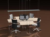 Висящи офис мебели