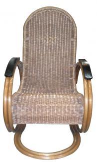 Люлеещ се ратанов стол Asia