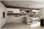 живописни  ъглови кухни дъб масив механизми Блум