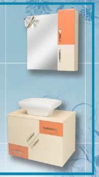 Шкаф за баня - Жасмин -