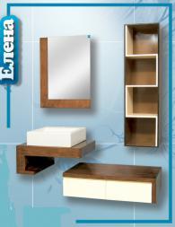 Шкаф за баня - Елена -