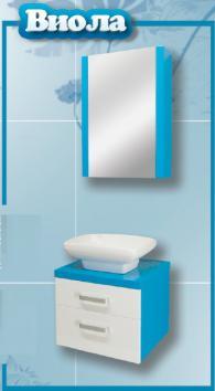 Мебели за баня - шкаф Виола -