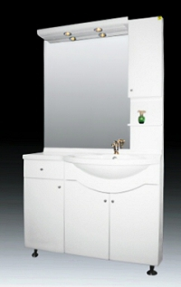 Мебели за баня Алегро 105 ПВЦ