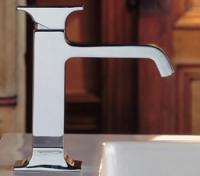 Смесител за мивка с метална ръкохватка