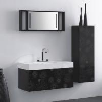 Черно бели мебели за бани