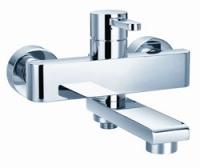 Едноръкохватков смесител за вана и душ
