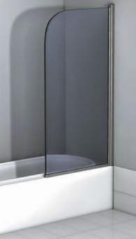 Ляв параван от стъкло за вана