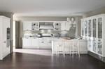 луксозни  кухни от дърво с плавни механизми