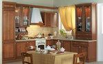 комфортни ъглови кухни фурнир орех солидни