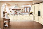 луксозни  големи кухни масив дъб с плавни механизми