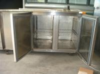Хладилна маса с 3 врати 187х70х85 см