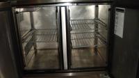Хладилна маса с 2 врати втора употреба