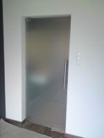 модерна стъклена врата 1281-3577