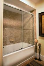 модерна стъклена врата 1382-3577