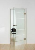 стъклени врати по поръчка 1423-3577