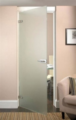 стъклена врата по поръчка 1434-3577