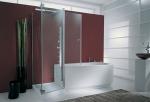 стъклена врата по поръчка 1442-3577