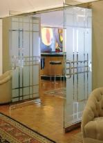 врата стъклена по поръчка 1450-3577